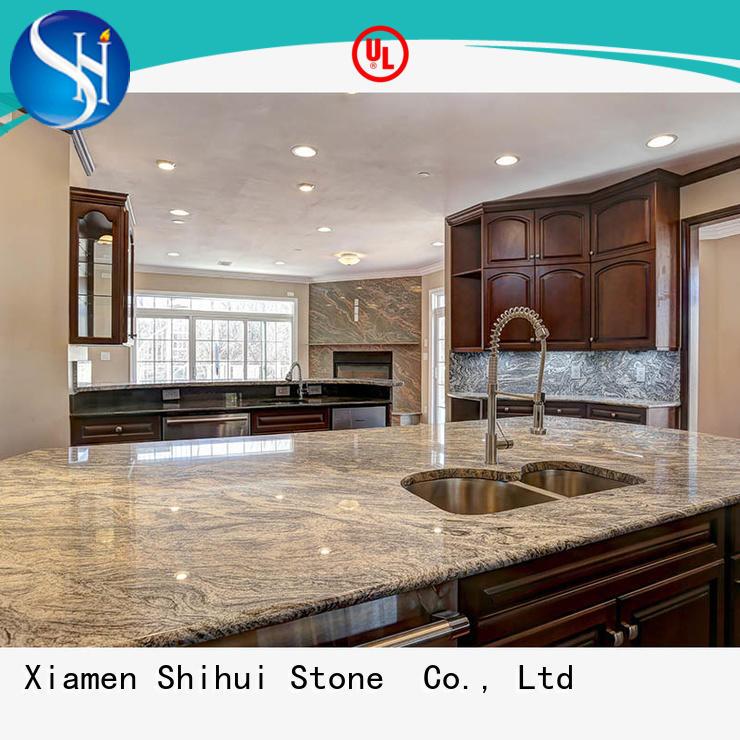 Shihui sturdy best stone kitchen countertops wholesale for kitchen