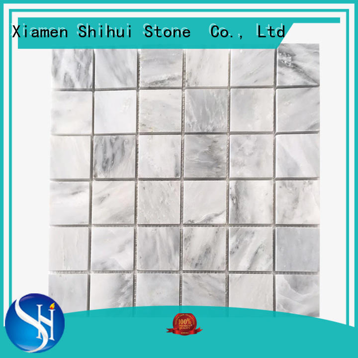 Shihui oriental natural stone tile mosaic manufacturer for toilet