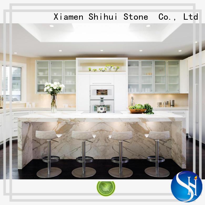 engineered quartz countertops for kitchen Shihui