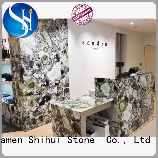 Shihui cornerstone countertops factory price for bathroom