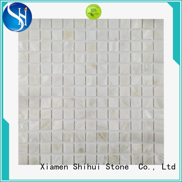 cobblestone mosaic tile manufacturer for bathroom Shihui
