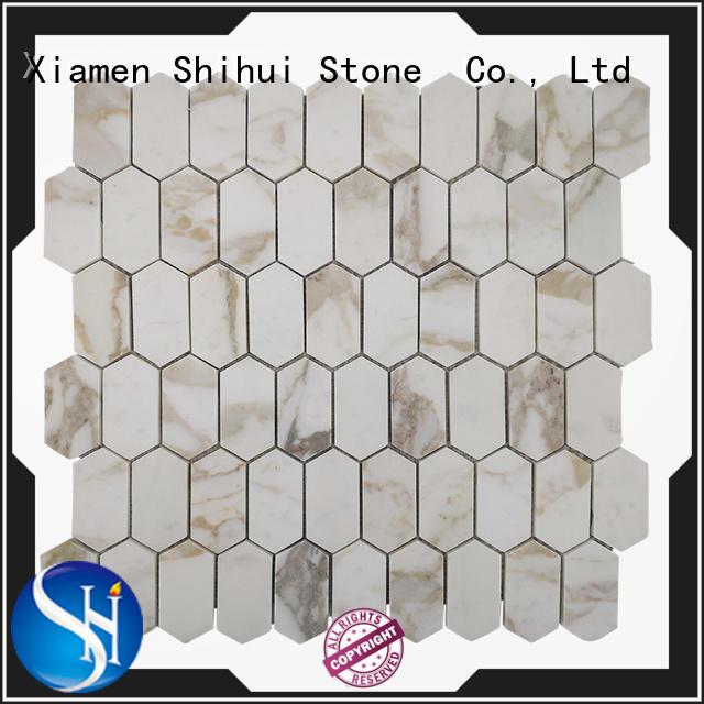 ivory stone mosaic tile backsplash series for household