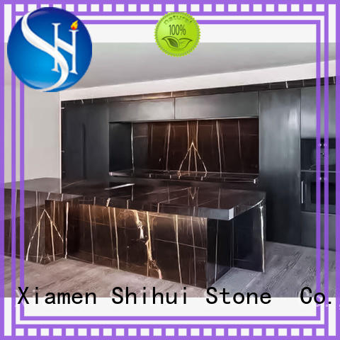 calacatta manmade stone countertops factory price for kitchen