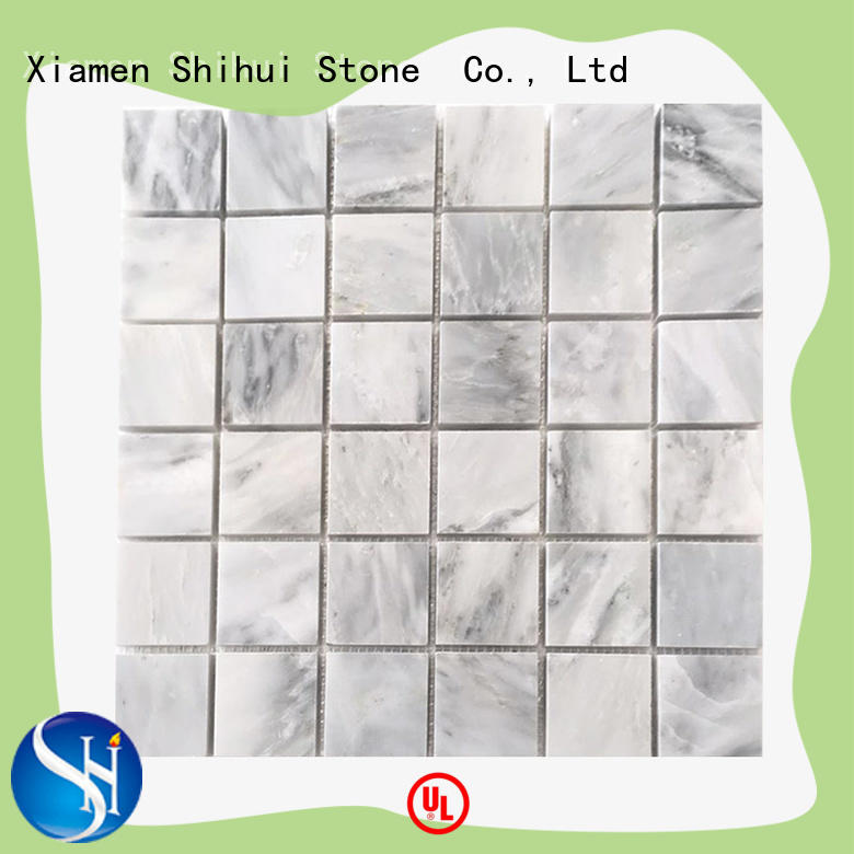 Shihui quality stone mosaic backsplash series for household