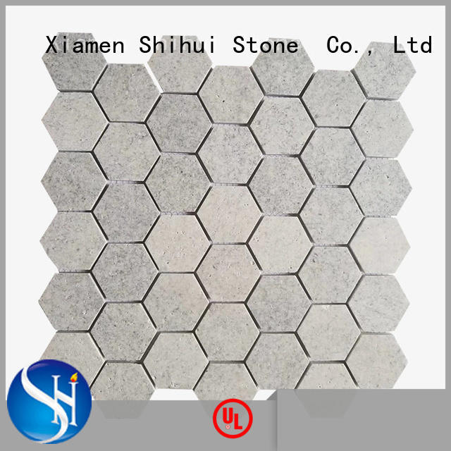 Shihui practical tile stone mosaic directly sale for indoor