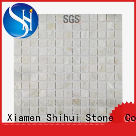 Shihui hot selling stone mosaic backsplash directly sale for household