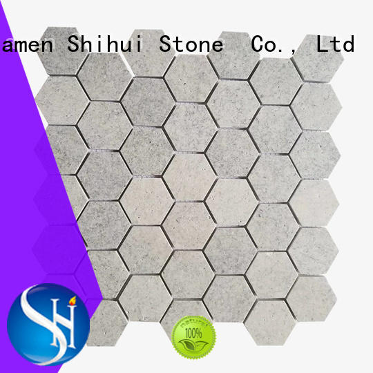 Shihui natural stone mosaic from China for bathroom