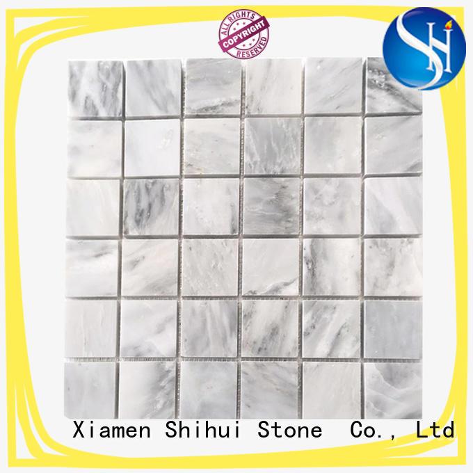 stone mosaic backsplash for indoor Shihui