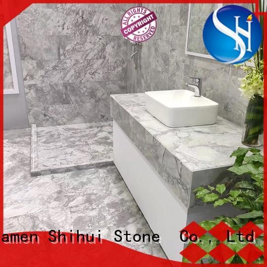travertine marble tile design for bathroom Shihui