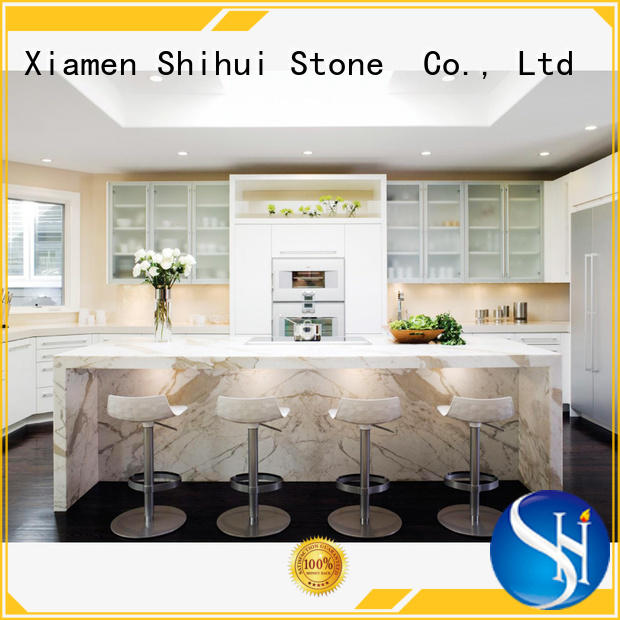 Shihui manmade stone countertops factory price for bathroom