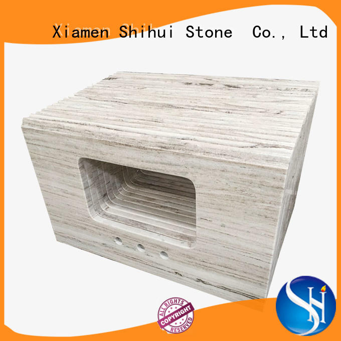 stable best stone kitchen countertops factory price for hotel