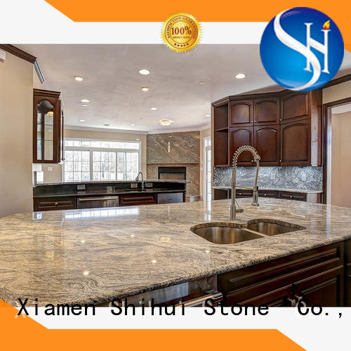 manmade stone slab countertop wholesale for hotel