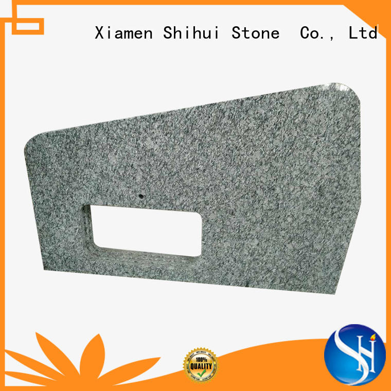 Shihui quality cultured stone countertop factory price for bar