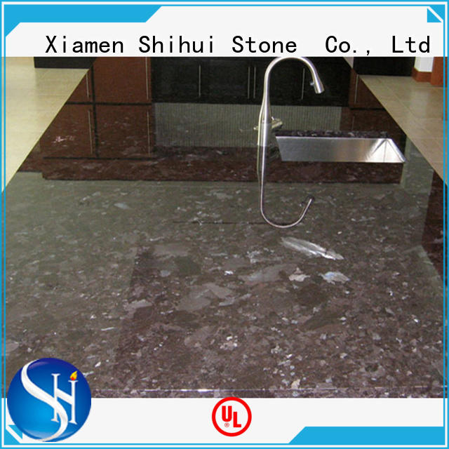 Shihui artificial stone slab countertop wholesale for hotel