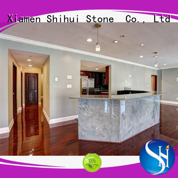 santo stone tile countertops factory price for hotel
