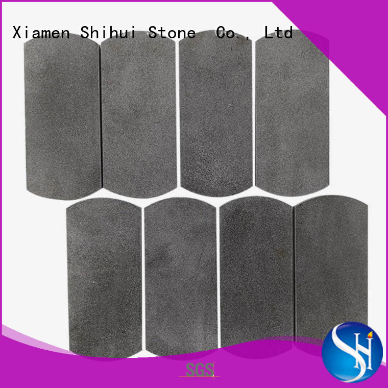 hexagon tile stone mosaic directly sale for bathroom