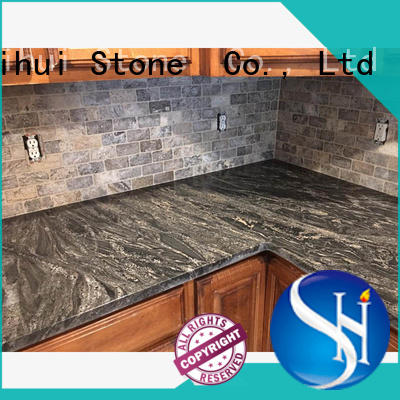Shihui stable manmade stone countertops personalized for kitchen