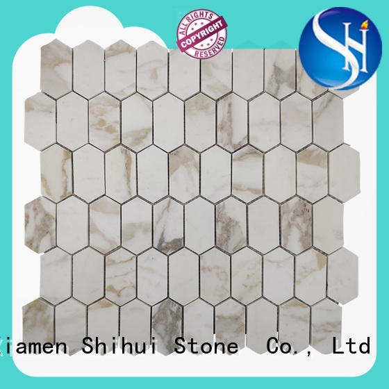 Shihui stone mosaic tile backsplash manufacturer for toilet
