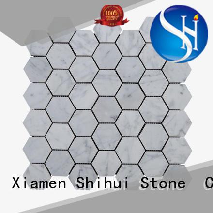 stone mosaic backsplash for toilet Shihui