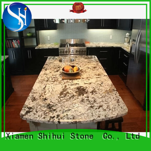 Shihui juparana stone slab countertop wholesale for bathroom