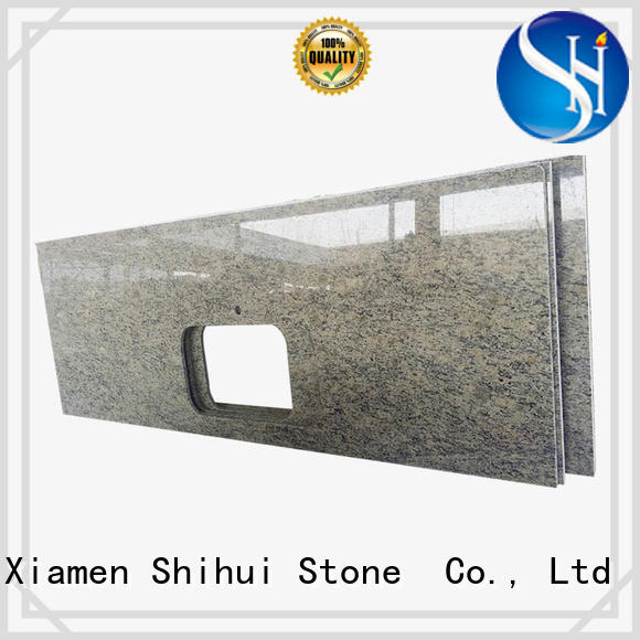 Shihui certificated engineered stone countertops supplier for hotel