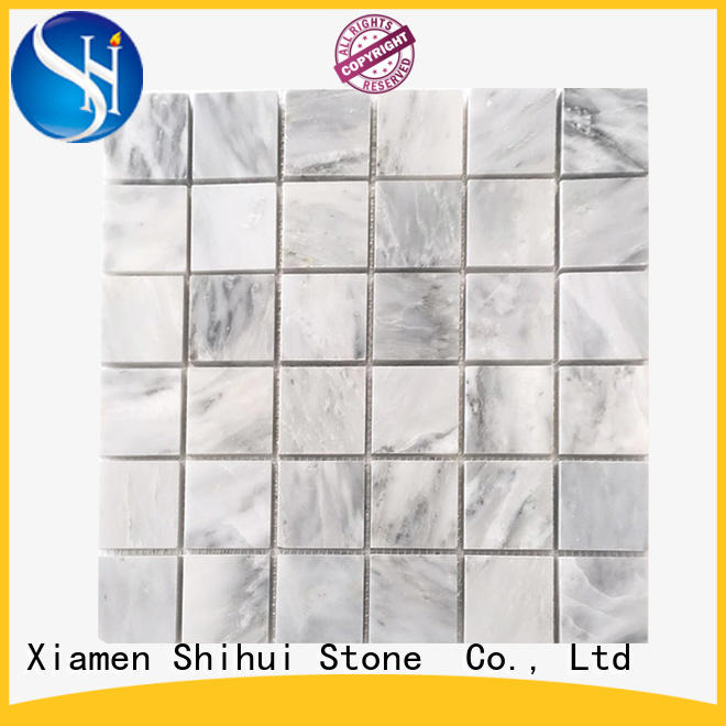 Shihui stone mosaic tile backsplash manufacturer for household