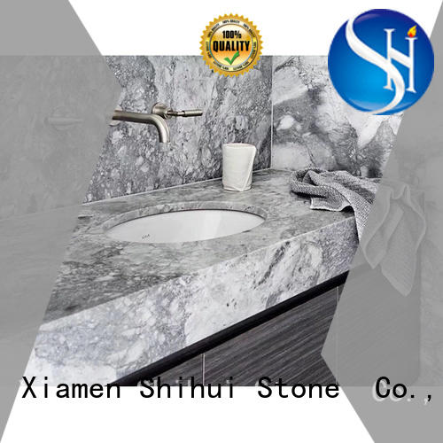marble vanity countertop supplier for kitchen Shihui