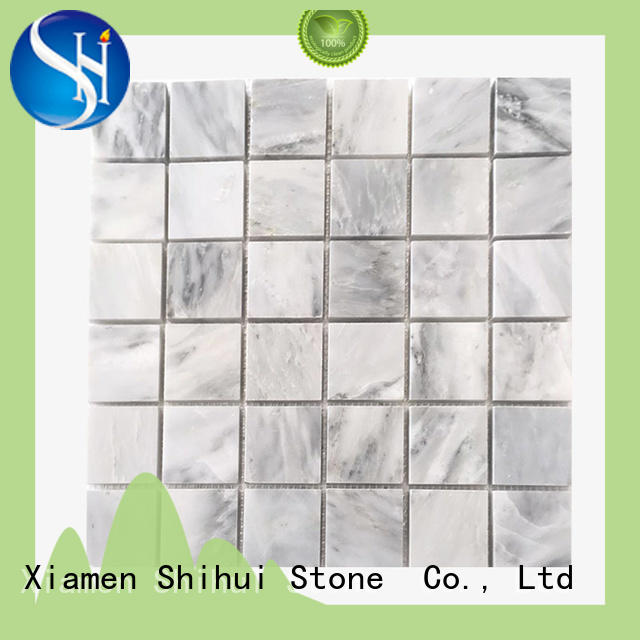 basalt natural stone mosaic series for household