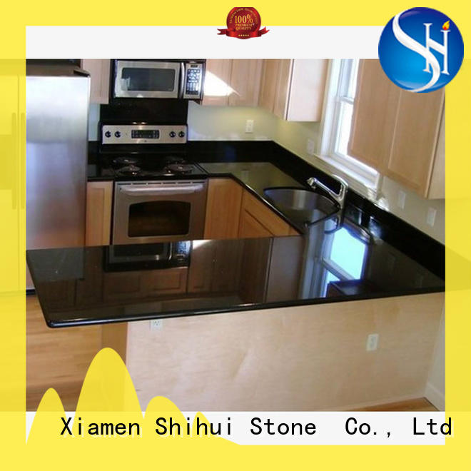 Shihui solid stone countertops factory price for hotel