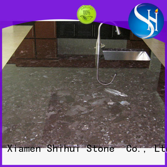 artificial manufactured stone countertops personalized for bar
