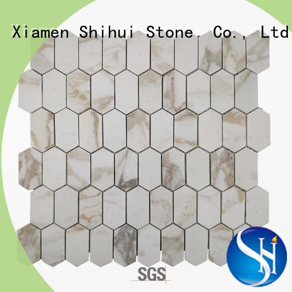 Shihui hot selling tile stone mosaic manufacturer for toilet