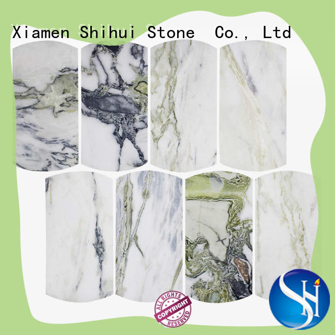 hexagon tile stone mosaic manufacturer for bathroom
