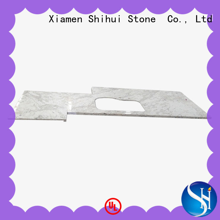 juparana cultured stone countertop factory price for bar