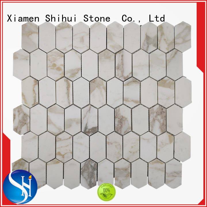 Shihui practical natural stone mosaic manufacturer for bathroom