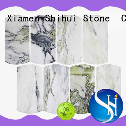 Shihui quality natural stone tile mosaic directly sale for toilet