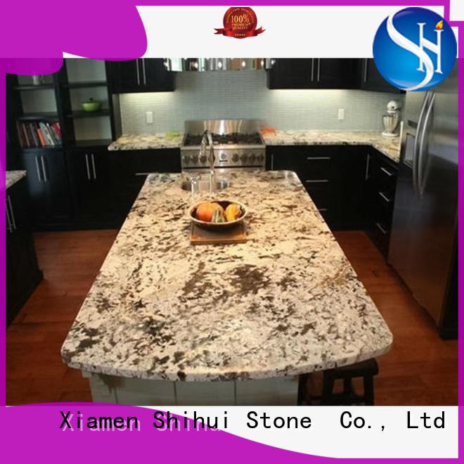 Shihui real quartz countertops factory price for kitchen