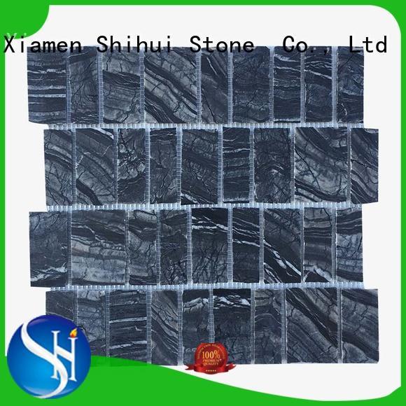 Shihui durable stone mosaic backsplash from China for toilet