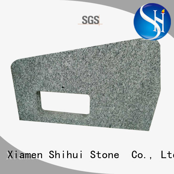 Shihui stable marble vanity countertop for bar