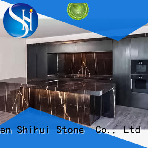 Shihui brown best stone kitchen countertops personalized for kitchen