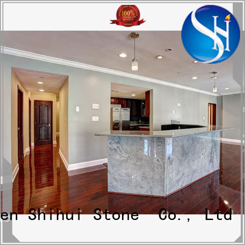 Shihui manufactured stone countertops personalized for hotel