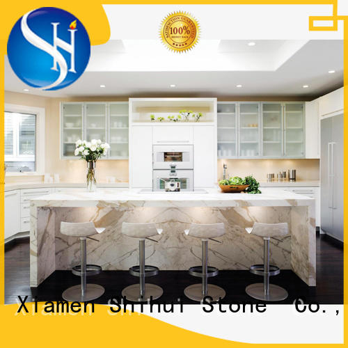 stone kitchen countertops personalized for hotel Shihui