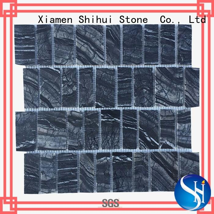 Shihui natural stone mosaic tiles customized for indoor