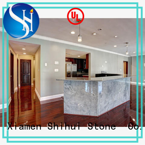 Shihui certificated solid stone countertops wholesale for bar