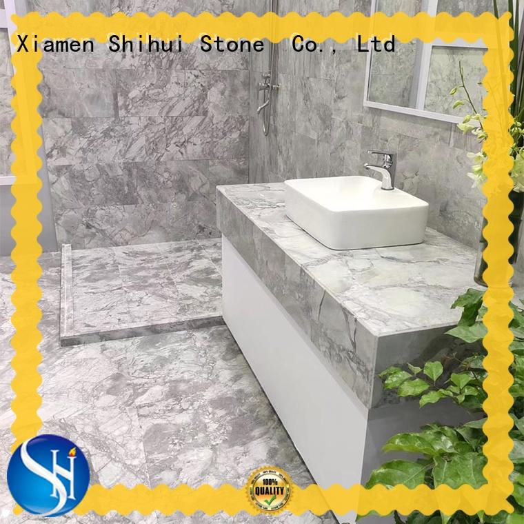 top quality natural marble tile factory for toilet