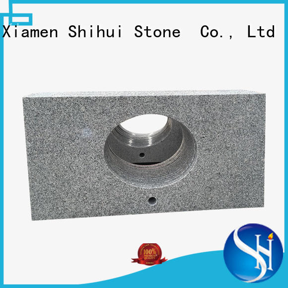 Shihui brown stone slab countertop factory price for bar