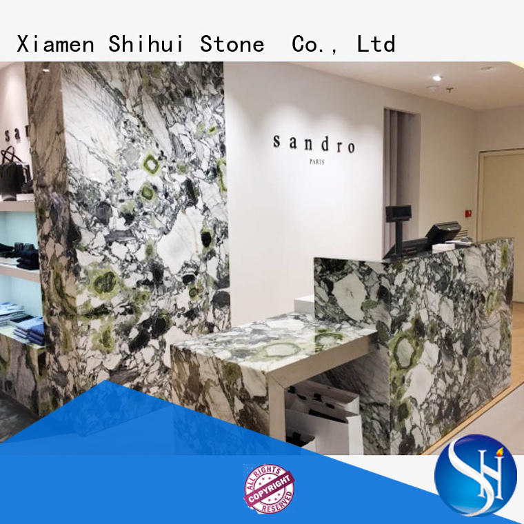 Shihui engineered stone countertops factory price for kitchen