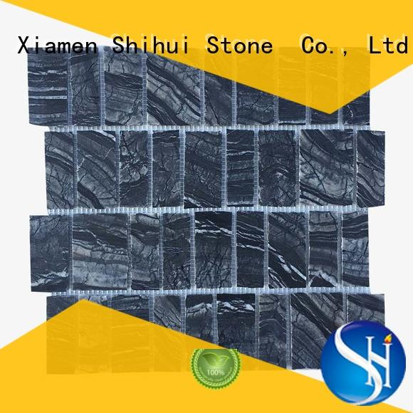 hot selling natural stone mosaic tiles series for toilet