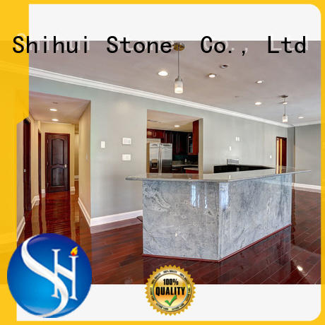 Shihui certificated cornerstone countertops factory price for bathroom