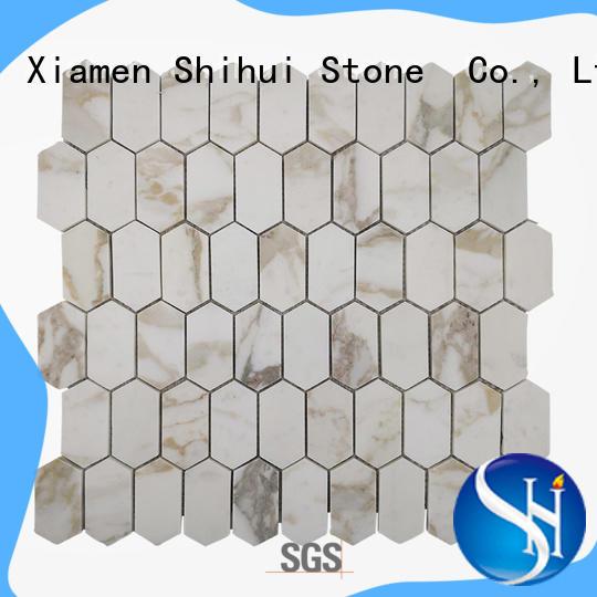 Shihui stone mosaic backsplash manufacturer for indoor