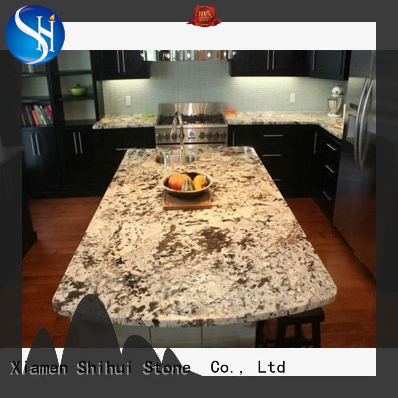 certificated top stone countertops factory price for bathroom